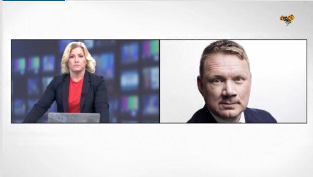Niklas Svensson: Sätter press på Löfven
