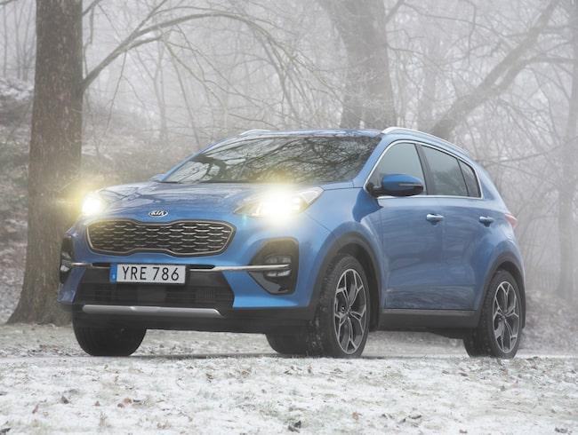 Kia Sportage finns nu som mildhybrid, med dieselmotor.