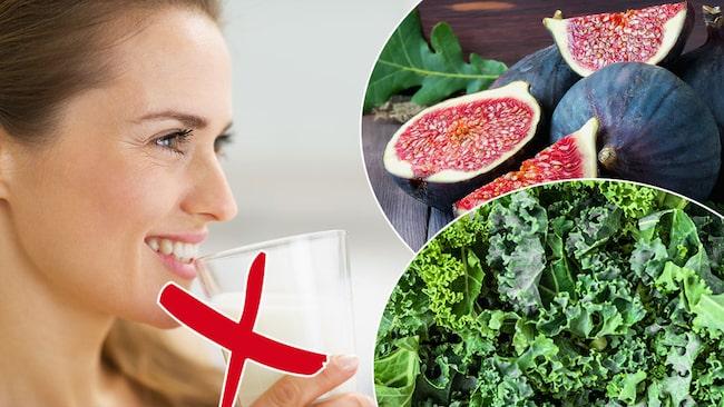 kalcium i grönsaker