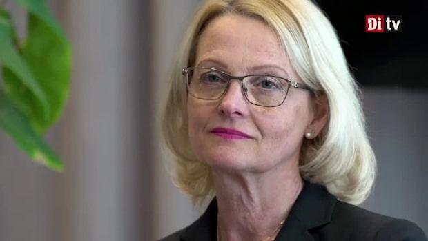 """Heléne Fritzon (S) om den sociala pelaren: """"Förvånad över kritiken"""""""