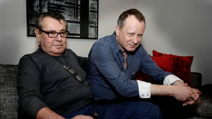 Milos Forman och Stellan Skarsgård. Foto: ÅKE THIM