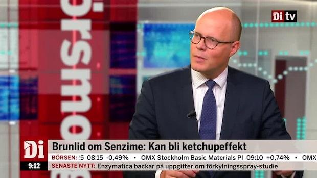 Brunlid om Senzime: Kan bli ketchupeffekt