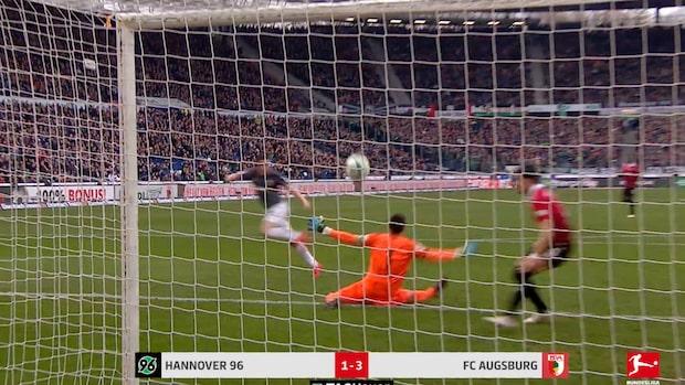 Augsburg tog viktig seger mot Hannover