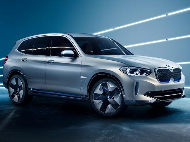 Elsuven BMW iX3 presenteras nästa år men den går att beställa redan nu.