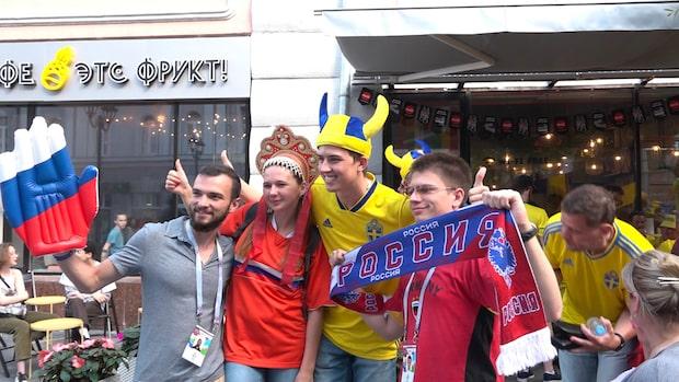 Här tar svenska fansen över VM-staden