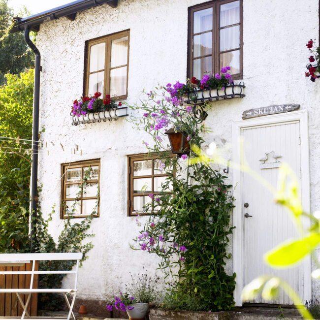 <span>Huset från 1909 var från början ett trefamiljshus.</span>