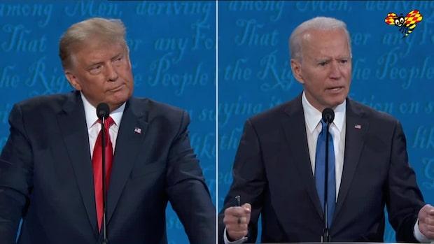 Heta snackisarna: Så var sista presidentvalsdebatt
