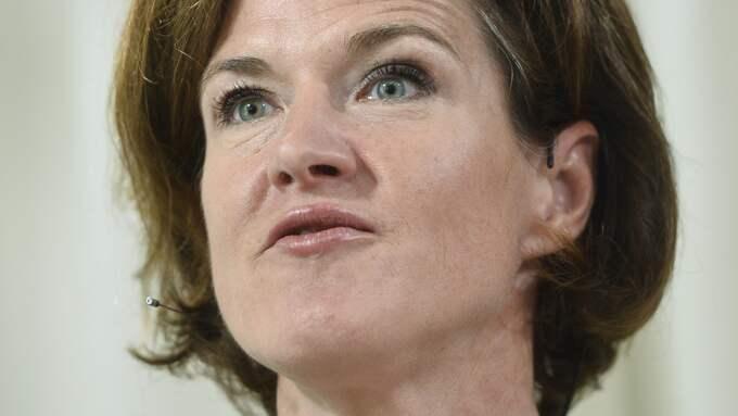Anna Kinberg Batra, Moderaterna. Foto: VILHELM STOKSTAD/TT / TT NYHETSBYRÅN
