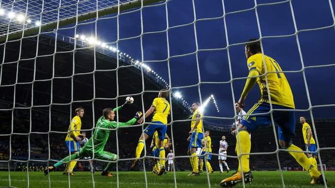 Com Hems tittare gick miste om Sveriges VM-kvalmatch mot Vitryssland. Foto: JOEL MARKLUND / BILDBYRÅN