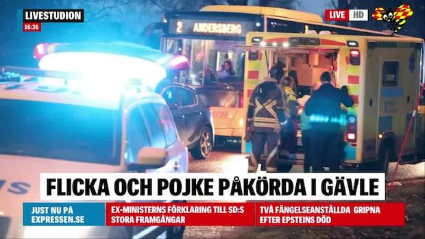 Pojke påkörd av lastbil –flicka påkörd av polis på väg till olyckan