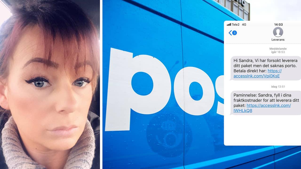 Ny bluffvåg – Sandra, 38, blev lurad av sms