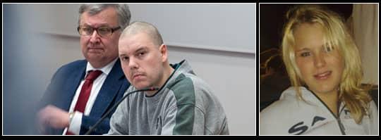 Pontus Lindén Käll (med advokaten Stefan Persson) erkände under rättegången i Attunda tingsrätt i går att han högg ihjäl sin flickvän Ellinor Galerius.