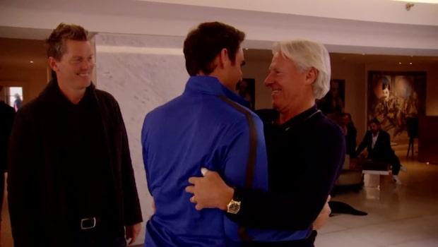 """Här möts Borg och Federer: """"Han är min idol"""""""