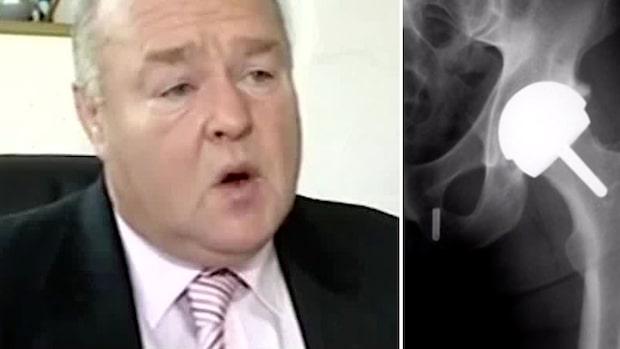 Stjärnkirurg sparade på patienternas kroppsdelar