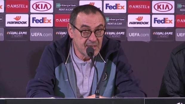 "Sarri fruktar MFF: ""Väldigt bra lag"""