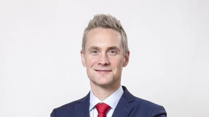 Kvällspostens fotbollskrönikör Mattias Larsson- Foto: TOMAS LEPRINCE