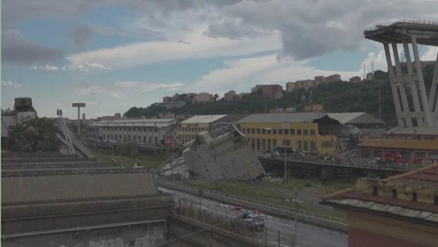 Experten om brokollapsen i Italien: Det finns alltid en risk