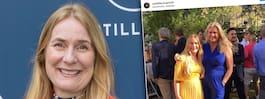 Annika Lantz kändistäta firande av sin 50-årsdag