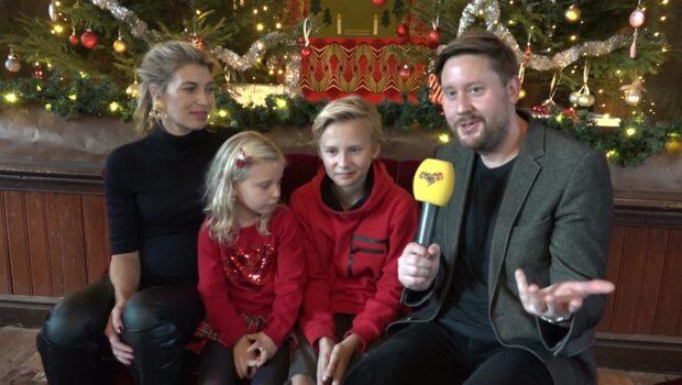 Familjen Storm om årets julkalender