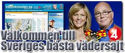 Kolla in på Expressens och TV4:s nya storsatsning Väderkanalen.se. Foto: Daniel Ohlsson/TV4