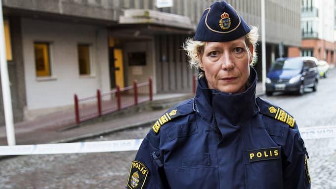Lena Matthijs, polisområdeschef i Älvsborg. Foto: ANDERS YLANDER