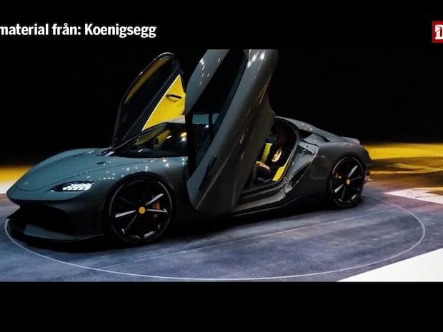 "Koenigseggs nya hybridbil: ""Världens dyraste"""