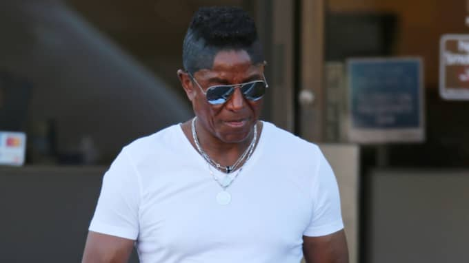 """Michael Jackons bror Jermaine Jackson reagerade starkt. """"Att nämna Michael gör dig inte cool"""", skrev han. Foto: Clint Brewer / Splash News"""