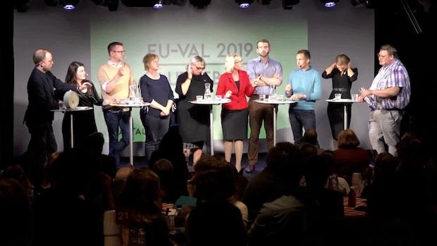 """Ordbråk mellan Lundgren och Fritzon: """"Det får vara lite faktaupplysning"""""""