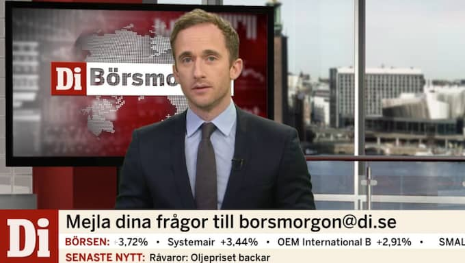 Tomas Kvarnkullen programleder dagens nyhetssvep.