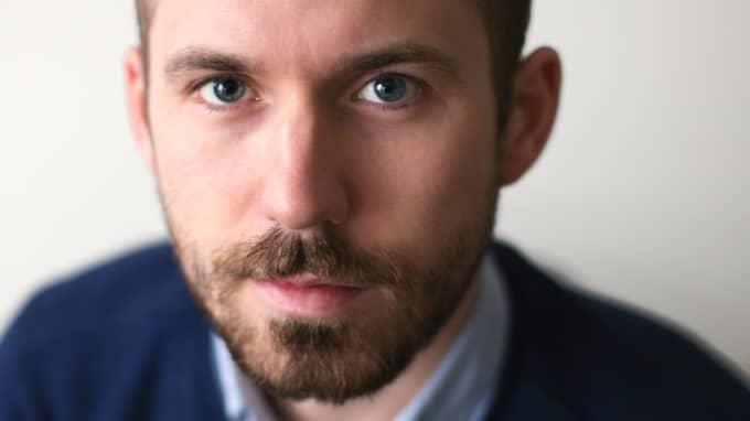 Daniel Poohl, chefredaktör för tidningen Expo. Foto: David Lagerlöf/Expo