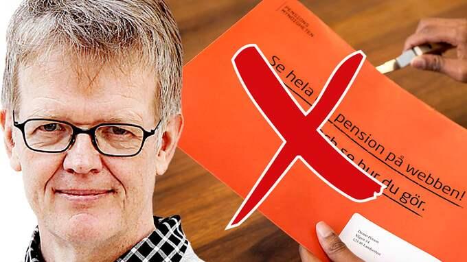 Nya pensionsregler gör det mindre lönsamt att arbeta, skriver Gunnar Wetterberg. Foto: / ImageForum