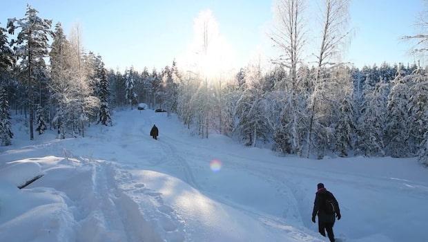 Meteorologen: Det blir lite kallare än normalt den här vintern