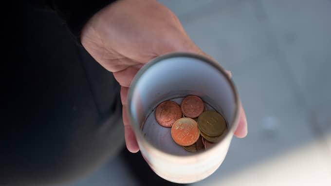 Tiggaren är gripen och misstänks för grovt brott mot penningtvättslagen. Foto: BJÖRN LINDGREN /TT / TT NYHETSBYRÅN
