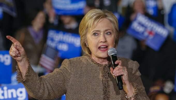 Hillary Clinton tog hem segern i South Carolina Foto: Erik S. Lesser / Epa / Tt