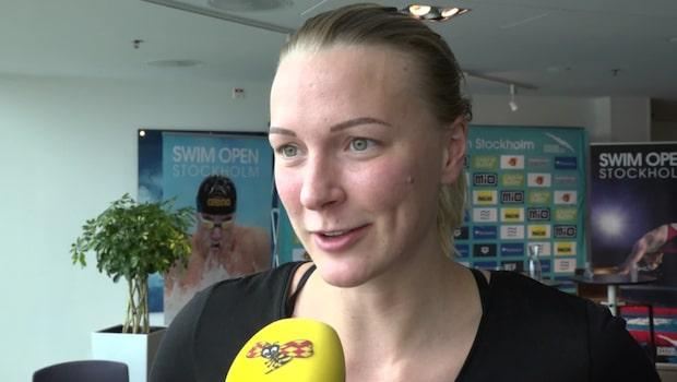 """Sjöström om att tävla mot killar: """"Vore ändå kul"""""""