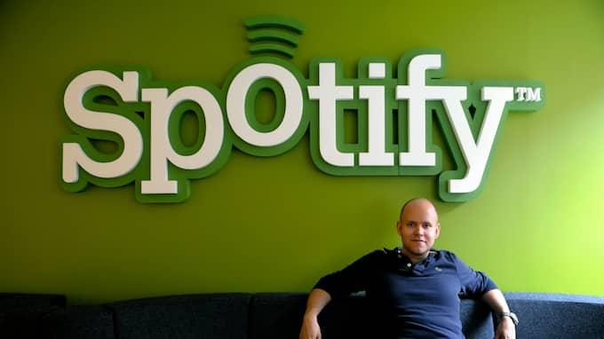 Spotifys grundare Daniel Ek. Foto: JANERIK HENRIKSSON / TT / TT NYHETSBYRÅN