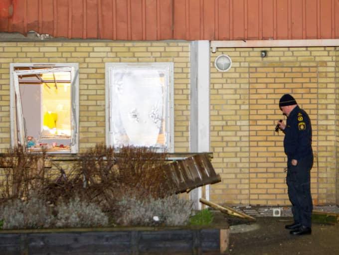 Nu åtalas sex personer för sprängningarna som skedde under julen i fjol. Foto: Peo Möller
