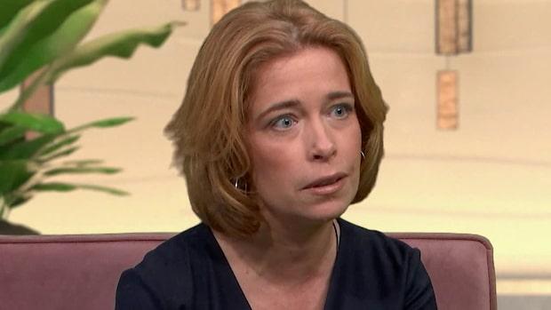 Annika Strandhäll väljer att öppna upp om sambons självmord