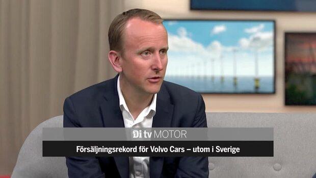Försäljningsrekord för Volvo Cars - förutom i Sverige