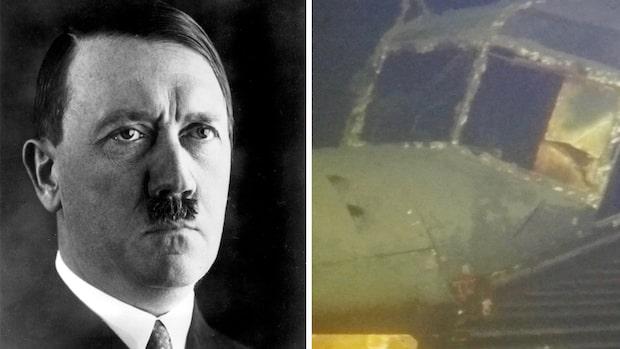 Se nya exklusiva bilder från Hitlers plan