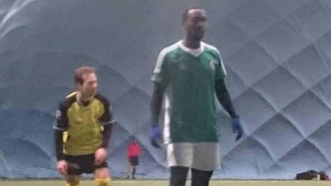 Här dyker Goitom upp i matchen, där han gjorde två mål och ett assist. Foto: Läsarbild.