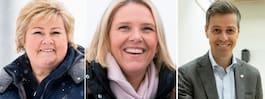 Listhaug får inte förtroende –  regeringskris på väg i Norge