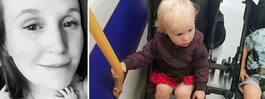 Kaya, 2, saknade biljett på  tåget – straffades med böter