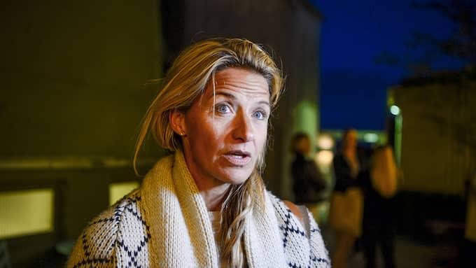 Kristin Kaspersen blev rädd för att somna. Foto: ALEX LJUNGDAHL