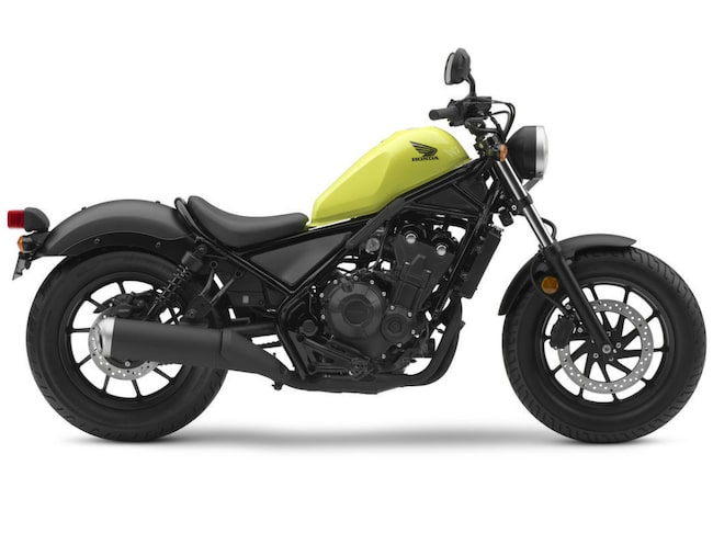 Nya Rebel lanseras med 300 och 500 cc.