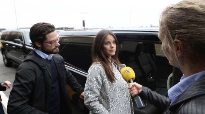 Prins Carl Philip och Sofia är i New York på kärlekssemester.