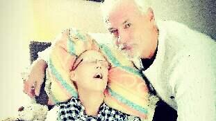 Min vän Eva var envis, snäll och ödmjuk och ett enormt Blåvitt-fan. Det är så jag vill minnas henne. Foto: PRIVAT
