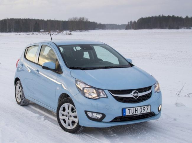 Vi testar nya Opel Karl på svenska vintervägar.