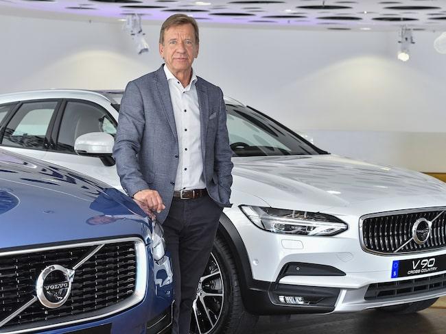 Volvos vd Håkan Samuelsson.