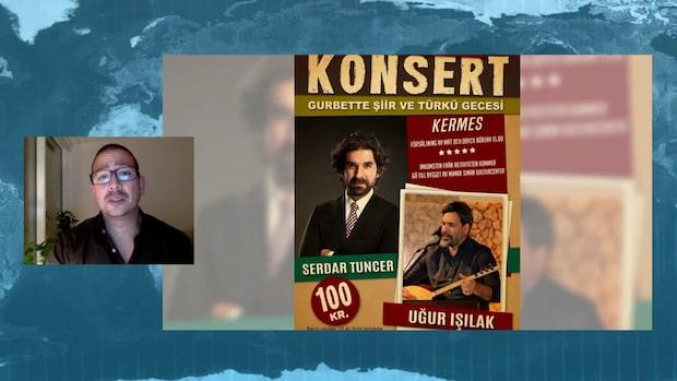 Kommunal lokal används för att finansiera Erdogan-propaganda